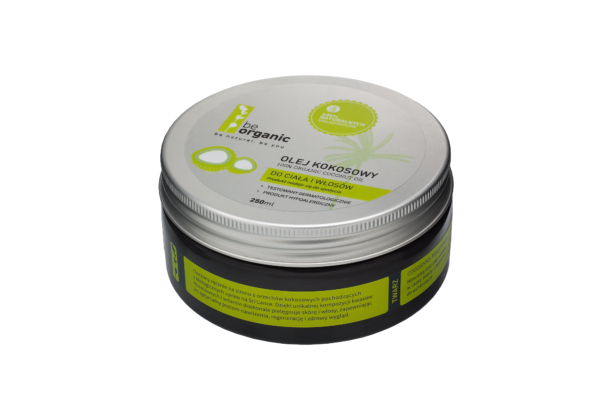 Organiczny olej kokosowy 250ml