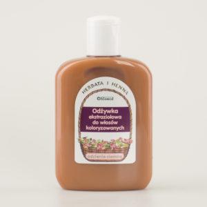 Odżywka ekstraziołowa do włosów koloryzowanych odcienie ciemne 200ml