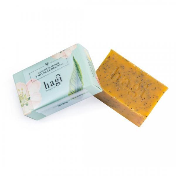 Naturalne mydło z olejem z rokitnika i peelingiem makowym