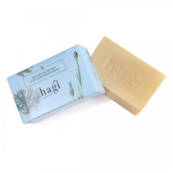 Naturalne mydło z olejem ze słodkich migdałów