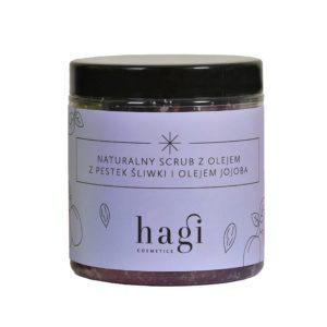 Naturalny scrub z pestek śliwki i olejem jojoba 400g
