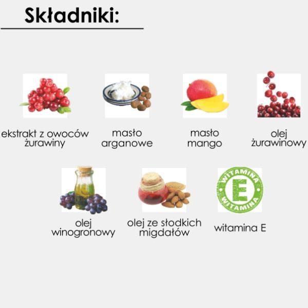 Krem do ciała - Formuła odżywcza GoCranberry 200 ml
