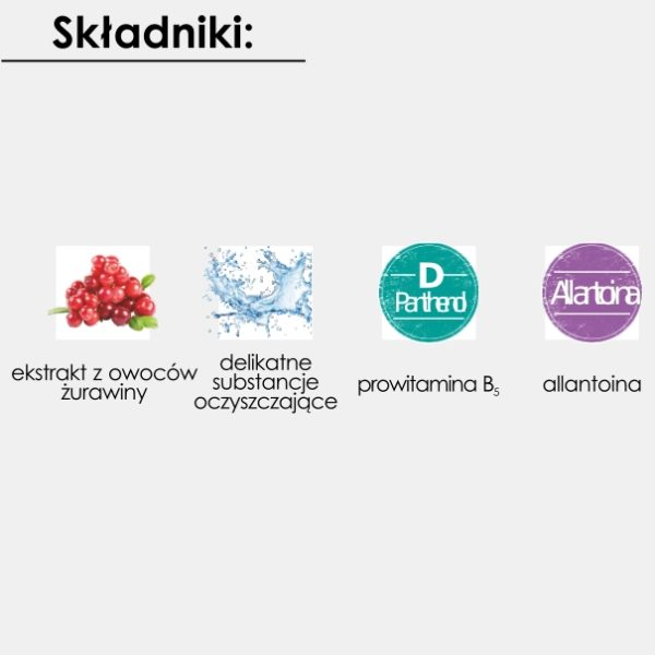 Micelarny Żel Do Mycia Twarzy i Demakijażu GoCranberry 150 ml
