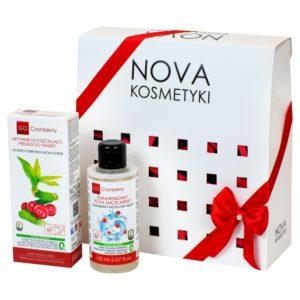 subtelne oczyszczanie zestaw kosmetykow gocranberry