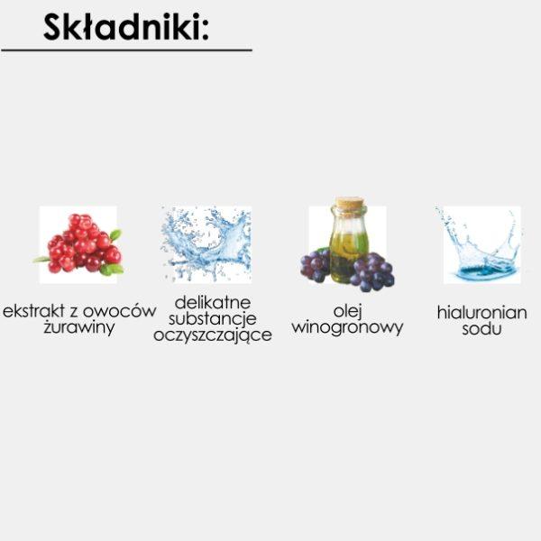 Żurawinowa Pianka do mycia twarzy GoCranberry 150 ml