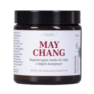 Regenerujące masło do ciała May Chang z olejem konopnym 120ml