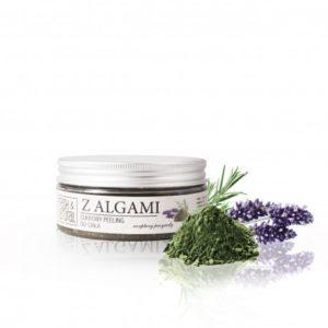 Cukrowy peeling do ciała z ALGAMI 250g