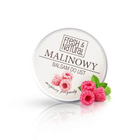 MALINOWY balsam do ust 15ml