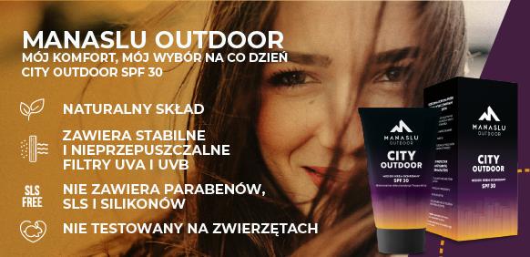 Krem do twarzy City Outdoor SPF30 Polskie Kosmetyki Naturalne